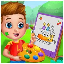 蛋糕着色页面游戏为成人