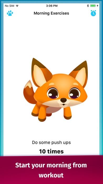 Screenshot of Good Morning Routine App