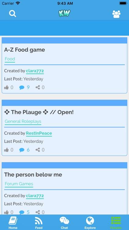 Kidzworld: Chat Room & Forums screenshot-6