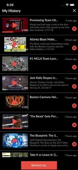 Lax Sports Network on the App Store