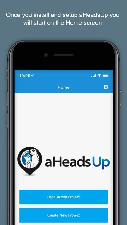 aHeadsUp screenshot-0