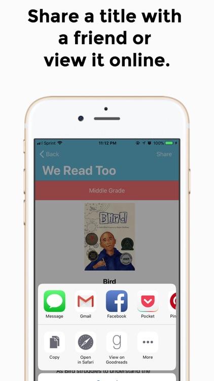 We Read Too screenshot-3