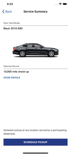 Volvo Valet On The App Store