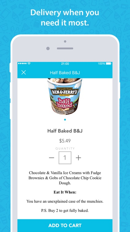 goPuff: Delivery of Snacks, Essentials & Ice Cream screenshot-3