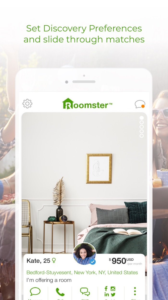 Roomster: Roommates & Rooms Screenshot