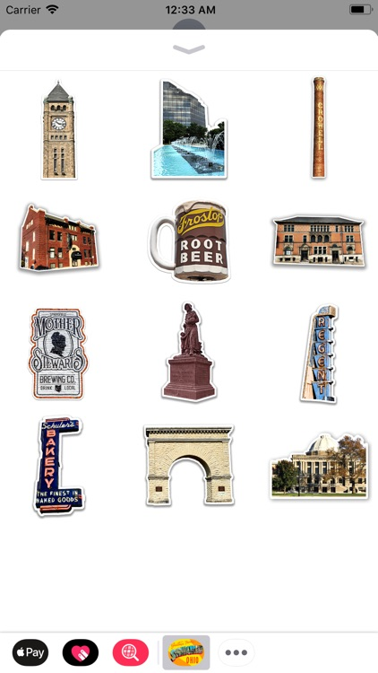 Springfield Ohio Sticker Pack