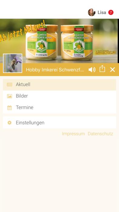 Hobby Imkerei Schwenzfeier screenshot 2