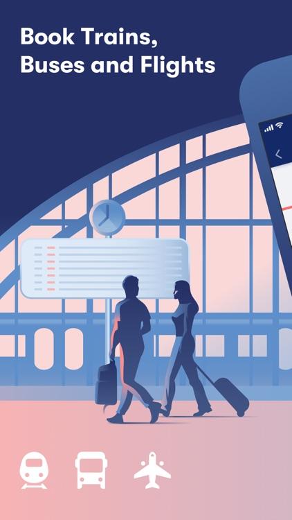 GoEuro: Train, Bus, Flight screenshot-0