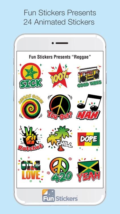 Reggae iSticker