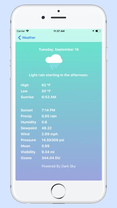 Weather - Pro - Blue Screenshots