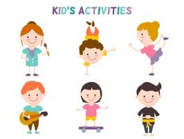 Girl & Boy Activity Stickers