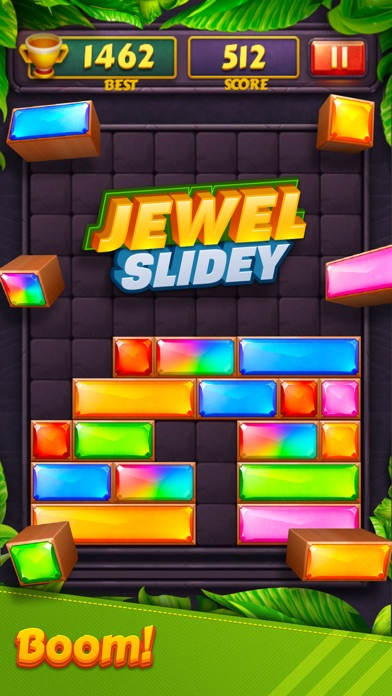 Jewel Blast - Block Drop Puzzl Screenshot 4