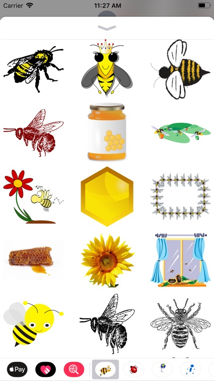 Honeybee Sticker Pack screenshot-6