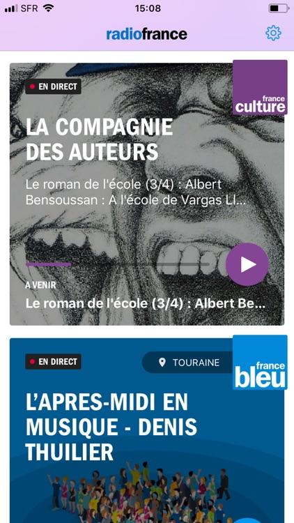 Radio France - direct/réécoute