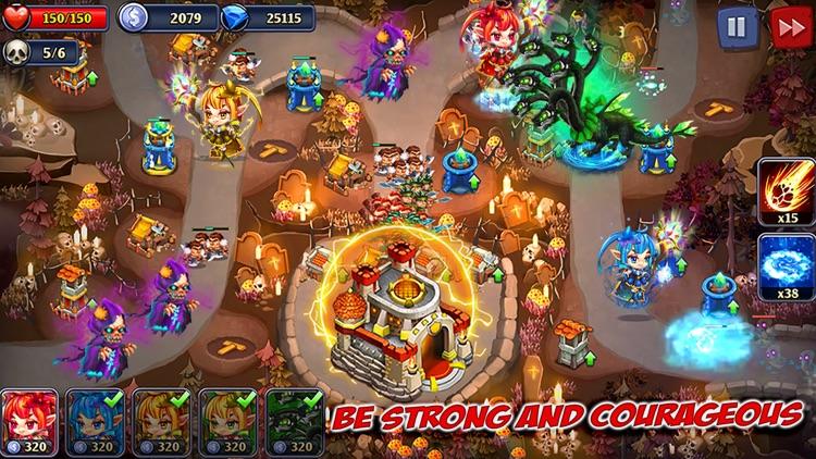 Kingdom Defense: Heroes War TD screenshot-3