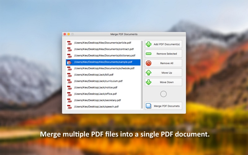 PDF Plus - Merge & Split PDFs 앱스토어 스크린샷