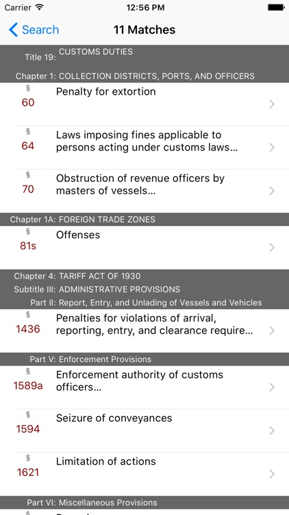 19 USC - Customs Duties (LawStack Series) screenshot-4