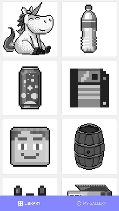 数字で塗り絵:ぬりえパズルゲームで暇つぶし screenshot1