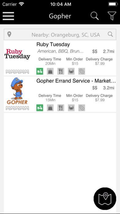 Gopher Errand Service - 窓用