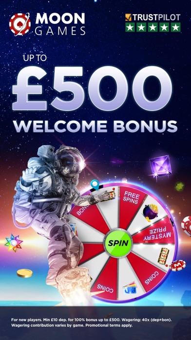 Moon Games Casino screenshot one