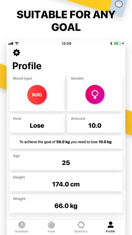 Blood Diet Plan screenshot-3