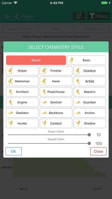 Screenshot for FUT 19 Draft, Builder - FUTBIN in United States App Store