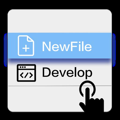 PowerMenu - Fast New File