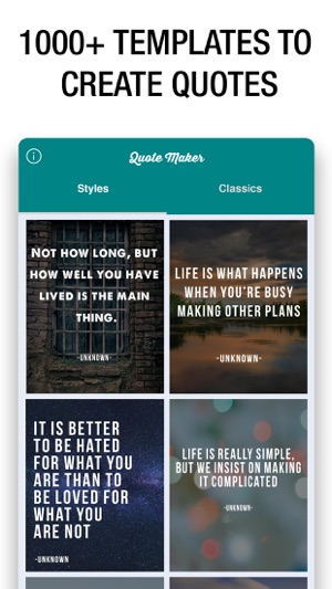 Quote Maker Fascinating Quote Maker Quote Creator On The App Store