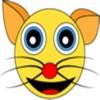 Cutie Flat Cat