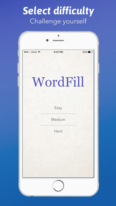 Word Fill - A fill in the blanks gameのおすすめ画像1