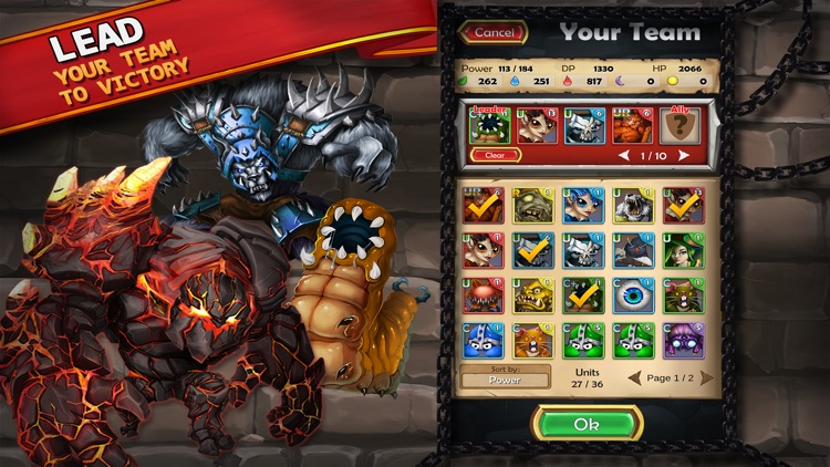 Dungeon Monsters - RPG screenshot-1