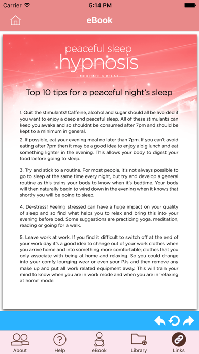 Peaceful Sleep Hypnosis Full Versionのおすすめ画像2