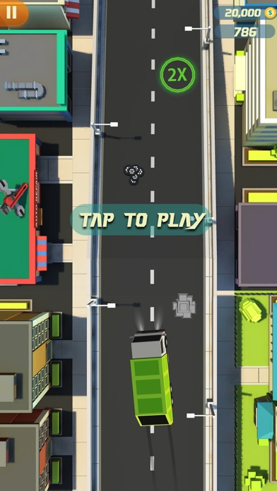 Finger Car Driver Dash screenshot one