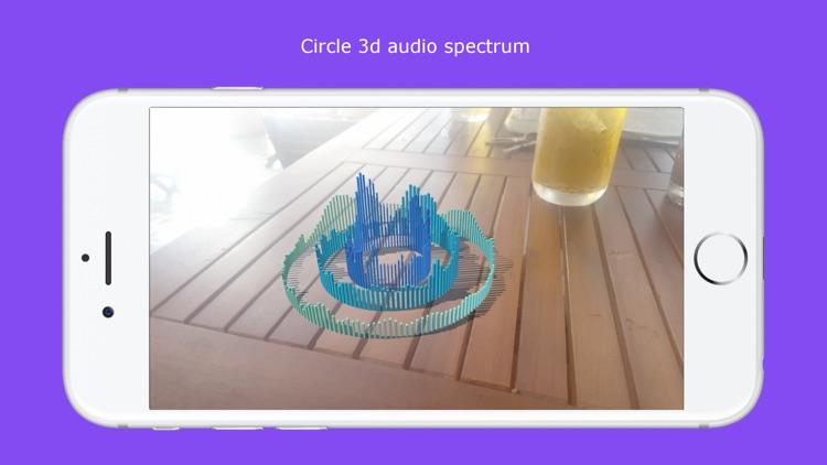 AR Audio Spectrum 3D screenshot-4