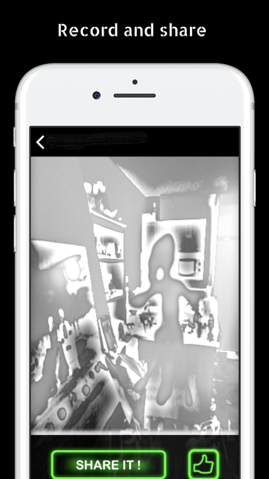 Ghost Observer - AR Detector Screenshot on iOS
