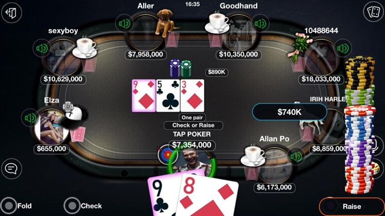 Tap Poker Social screenshot-3