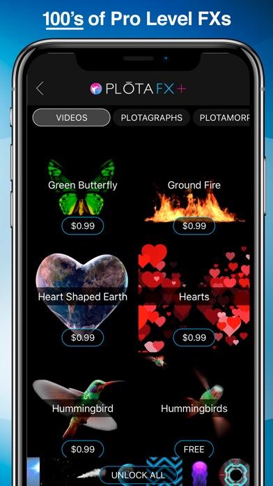 PLOTAVERSE • 写真ビデオ・エディタ screenshot1