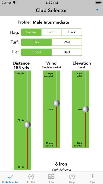 Golfmaster Club Selector screenshot-0