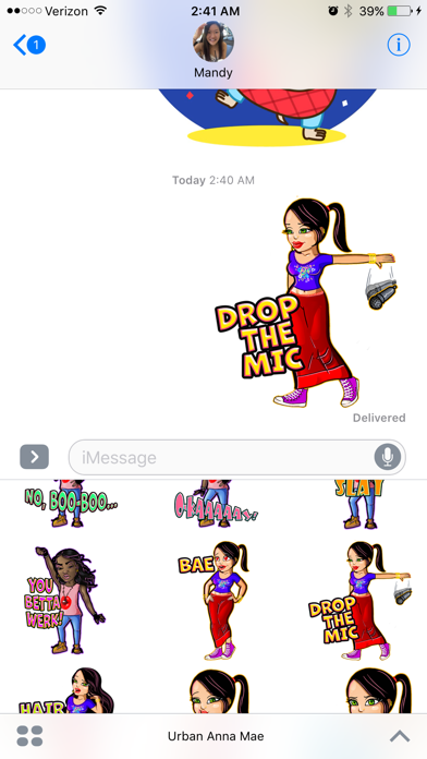 Urban Anna Mae Diverse Emojis screenshot three
