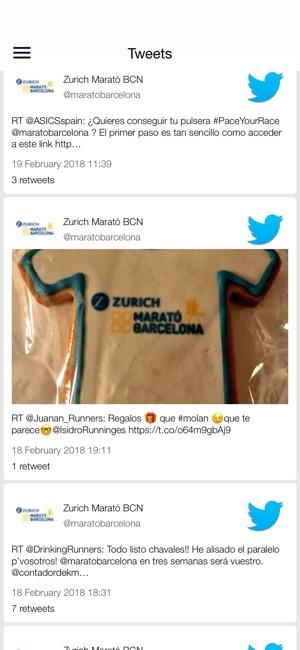 Zurich Marató de Barcelona on the App Store
