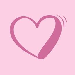 Heart Calligraphy