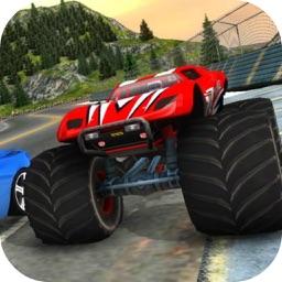 Super Monster Truck Car Race