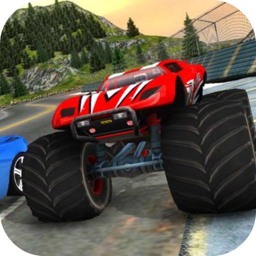 Super Monster Truck Car Race iOS App
