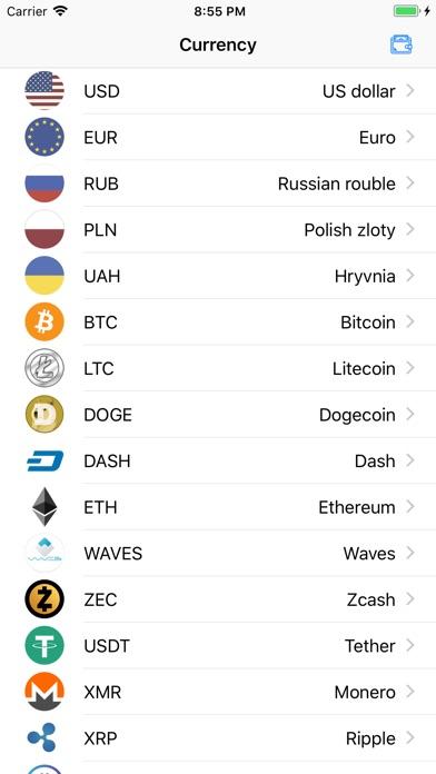 Crypto Currency screenshot #1