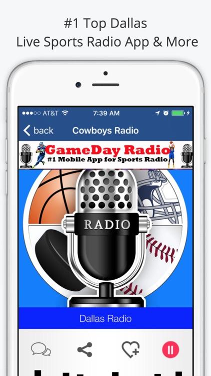 Dallas GameDay Radio for Cowboys Mavericks Rangers