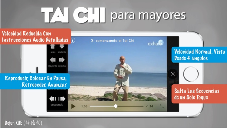 Tai Chi para Mayores Pro screenshot-3