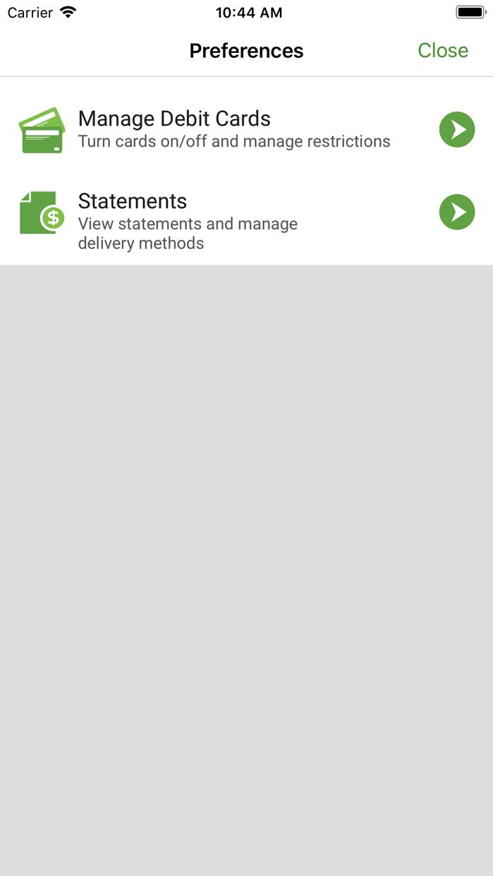 Woodforest Mobile Banking Screenshot