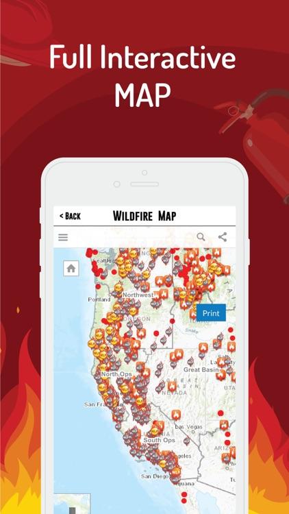 Wildfire Radar - Map & News