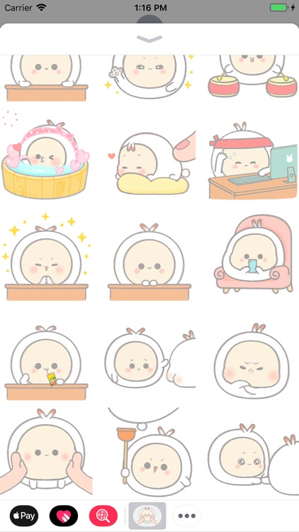 Little Bunny Animated Stickers