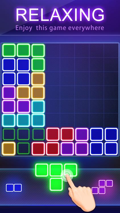 Block Puzzle -Glow Puzzle Game
